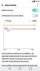 Desactiva tu conexión de datos - LG K10 2017 - Passo 3