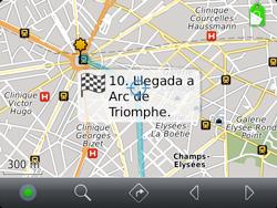 Uso de la navegación GPS - BlackBerry Bold 9720 - Passo 20