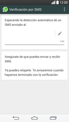 Configuración de Whatsapp - LG G3 Beat - Passo 7