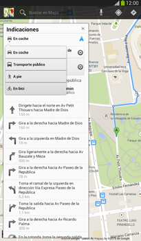 Uso de la navegación GPS - Samsung Galaxy Tab 3 7.0 - Passo 14