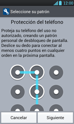 Desbloqueo del equipo por medio del patrón - LG Optimus L7 - Passo 7