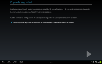 Crea una cuenta - Samsung Galaxy Note 10-1 - N8000 - Passo 24