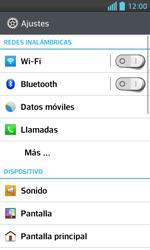 Configura el WiFi - LG Optimus L5 II - Passo 4
