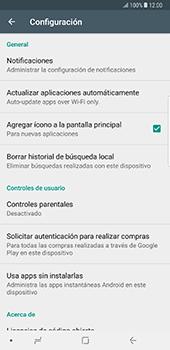 Cambiar configuración de actualizaciones de aplicaciones - Samsung Galaxy Note 8 - Passo 7