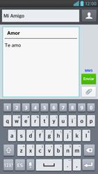 Envía fotos, videos y audio por mensaje de texto - LG Optimus G Pro Lite - Passo 11