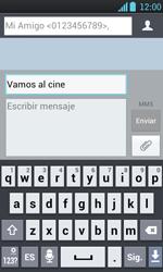 Envía fotos, videos y audio por mensaje de texto - LG Optimus L7 - Passo 11