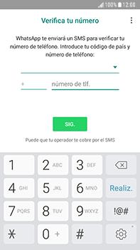 Configuración de Whatsapp - Samsung Galaxy J7 Prime - Passo 8
