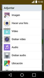 Envía fotos, videos y audio por mensaje de texto - LG C50 - Passo 12