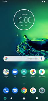 Transferir datos desde tu dispositivo a la tarjeta SD - Motorola Moto G8 Plus (Dual SIM) - Passo 1