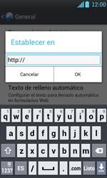 Configura el Internet - LG Optimus L7 - Passo 26