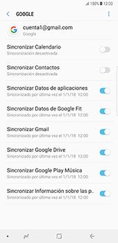 Desactivar la sincronización automática - Samsung Galaxy Note 8 - Passo 9
