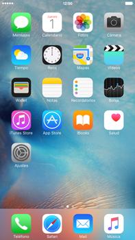 Envía fotos, videos y audio por mensaje de texto - Apple iPhone 6s Plus - Passo 1