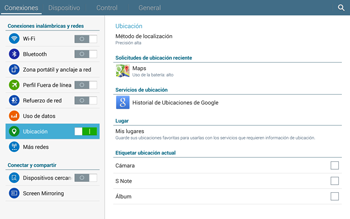 Uso de la navegación GPS - Samsung Galaxy Note Pro - Passo 20