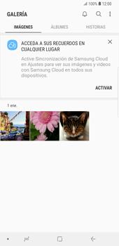 Transferir fotos vía Bluetooth - Samsung Galaxy S9 Plus - Passo 4