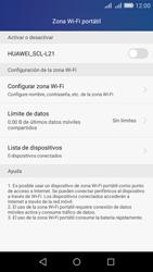 Configura el hotspot móvil - Huawei Y6 - Passo 6