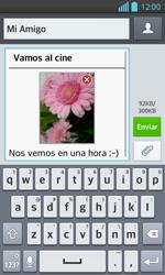 Envía fotos, videos y audio por mensaje de texto - LG Optimus L 7 II - Passo 16