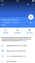 Uso de la navegación GPS - Apple iPhone 6s - Passo 13