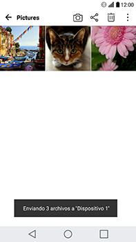 Transferir fotos vía Bluetooth - LG V20 - Passo 11