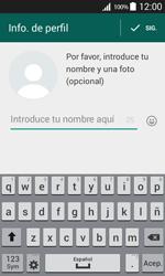 Configuración de Whatsapp - Samsung Galaxy Core Prime - G360 - Passo 8