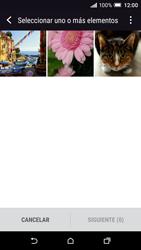 Transferir fotos vía Bluetooth - HTC One A9 - Passo 9