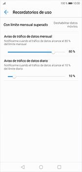 Desactivación límite de datos móviles - Huawei P20 - Passo 7