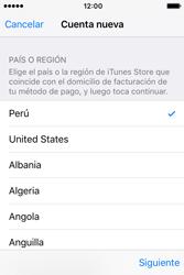Crea una cuenta - Apple iPhone 4s - Passo 8