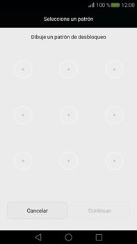 Desbloqueo del equipo por medio del patrón - Huawei Mate S - Passo 6