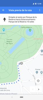 Uso de la navegación GPS - Motorola One Vision (Single SIM) - Passo 14