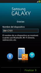 Activa el equipo - Samsung Galaxy Zoom S4 - C105 - Passo 14