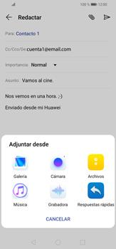 Cómo enviar un correo electrónico - Huawei P30 Lite - Passo 11