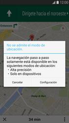 Uso de la navegación GPS - Samsung Galaxy S5 - G900F - Passo 16