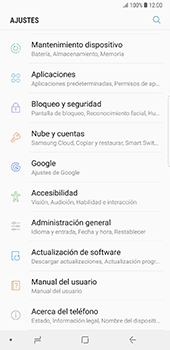 Actualiza el software del equipo - Samsung Galaxy Note 8 - Passo 5
