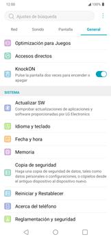 Realiza una copia de seguridad con tu cuenta - LG K40S - Passo 4