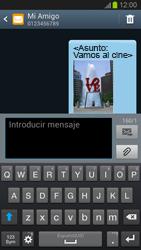Envía fotos, videos y audio por mensaje de texto - Samsung Galaxy S 3  GT - I9300 - Passo 19