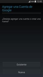 Crea una cuenta - Samsung Galaxy A3 - A300M - Passo 3