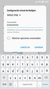 Configura el hotspot móvil - Samsung Galaxy J7 Prime - Passo 11