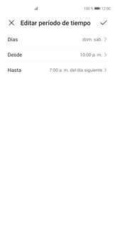 Cómo configurar el modo no molestar - Huawei P40 - Passo 6