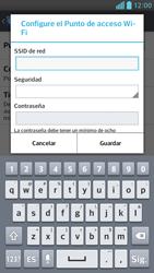 Configura el hotspot móvil - LG Optimus G Pro Lite - Passo 7