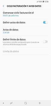 Desactivación límite de datos móviles - Samsung A7 2018 - Passo 8