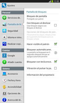 Desbloqueo del equipo por medio del patrón - Samsung Galaxy Tab 3 7.0 - Passo 16
