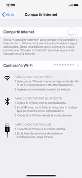 Configura el hotspot móvil - Apple iPhone XS - Passo 6