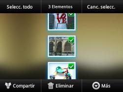 Transferir fotos vía Bluetooth - Samsung Galaxy Y Pro GT - B5510 - Passo 7