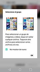 Transferir fotos vía Bluetooth - LG G5 SE - Passo 5