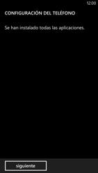 Activa el equipo - Nokia Lumia 1320 - Passo 13
