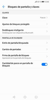 Desbloqueo del equipo por medio del patrón - Huawei P Smart - Passo 12