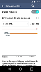 Desactiva tu conexión de datos - LG K4 - Passo 4