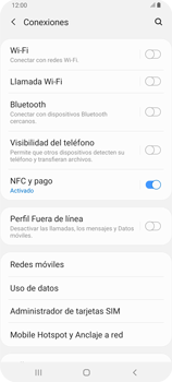 Desactiva tu conexión de datos - Samsung Galaxy A80 - Passo 4
