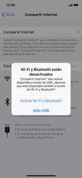 Comparte la conexión de datos con una PC - Apple iPhone X - Passo 5