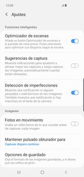 Opciones de la cámara - Samsung S10+ - Passo 6