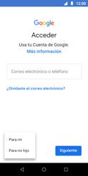 Crea una cuenta - Motorola Moto E5 Play - Passo 5